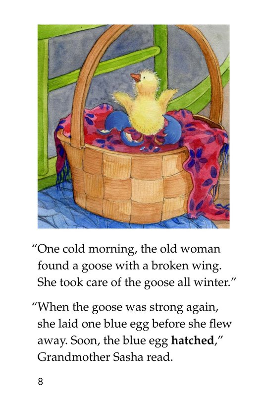 Book Preview For Anna and the Painted Eggs Page 8