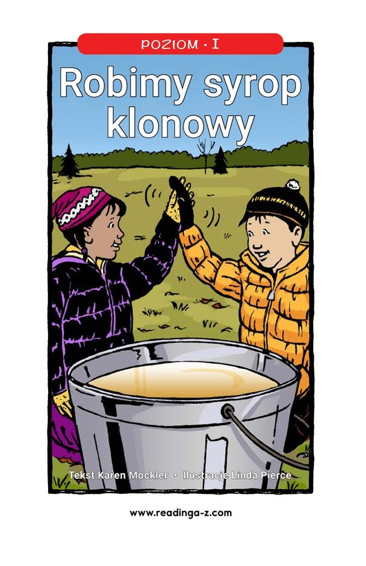 Book Preview For We Make Maple Syrup Page 1