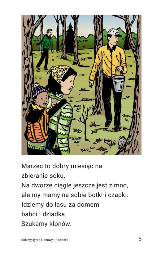 Book Preview For We Make Maple Syrup Page 5