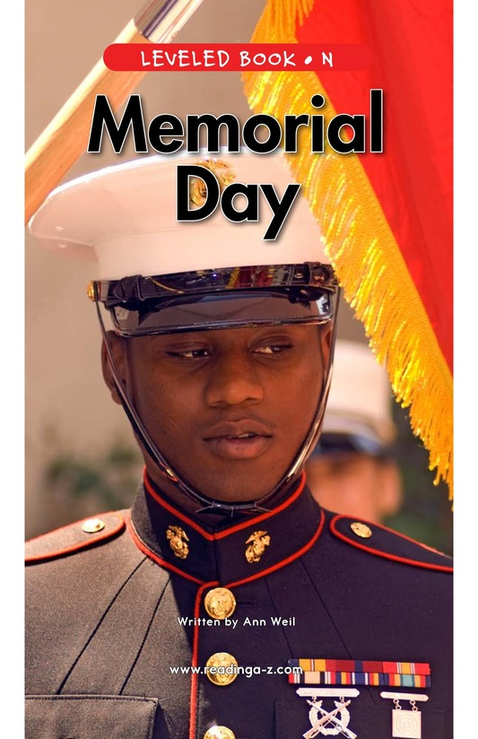 Book Preview For Memorial Day Page 1