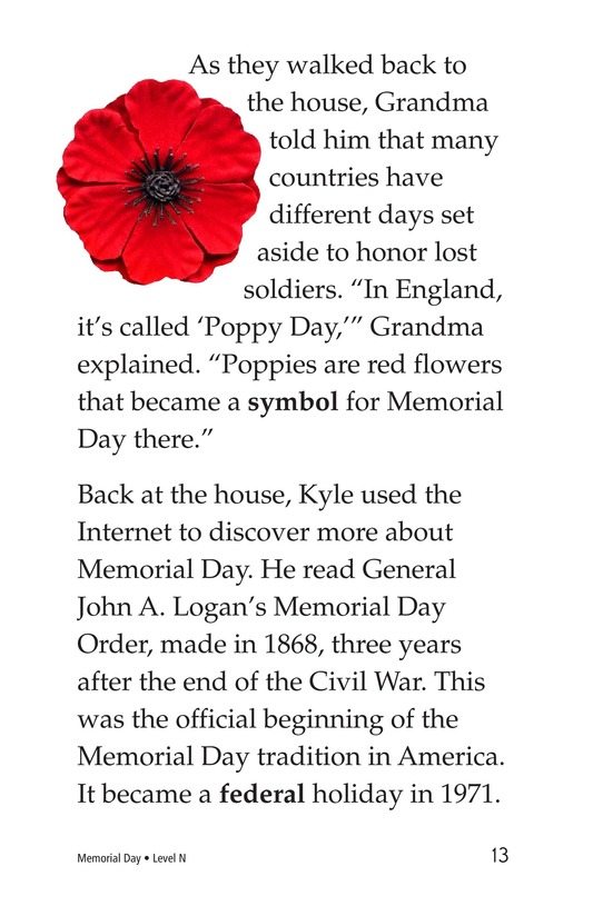 Book Preview For Memorial Day Page 13