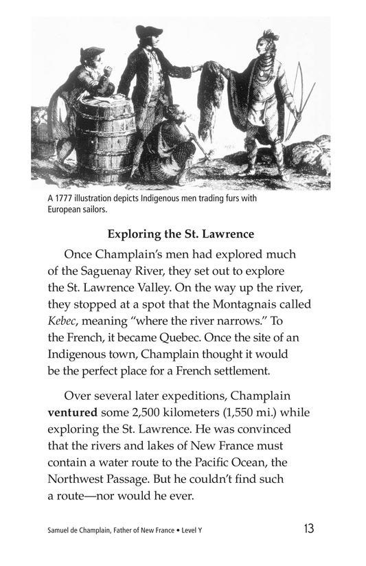 Book Preview For Samuel de Champlain, Father of New France Page 13