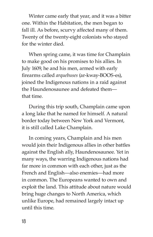 Book Preview For Samuel de Champlain, Father of New France Page 18