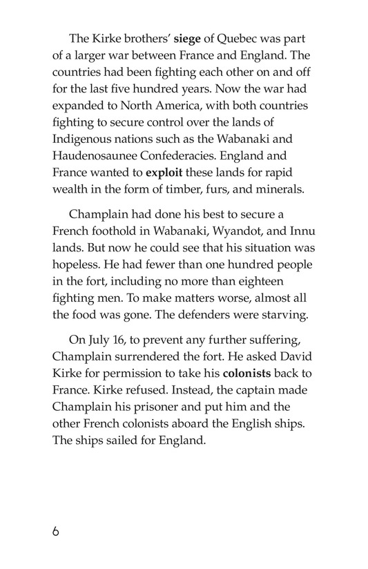 Book Preview For Samuel de Champlain, Father of New France Page 6