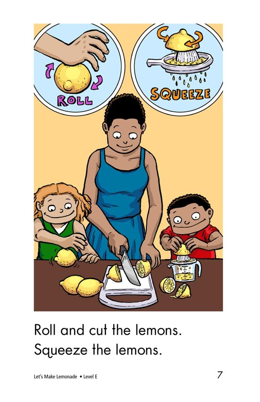 Book Preview For Let's Make Lemonade Page 7