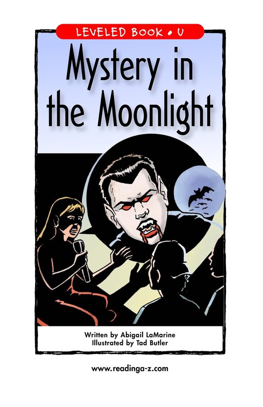 Book Preview For Mystery in the Moonlight Page 1