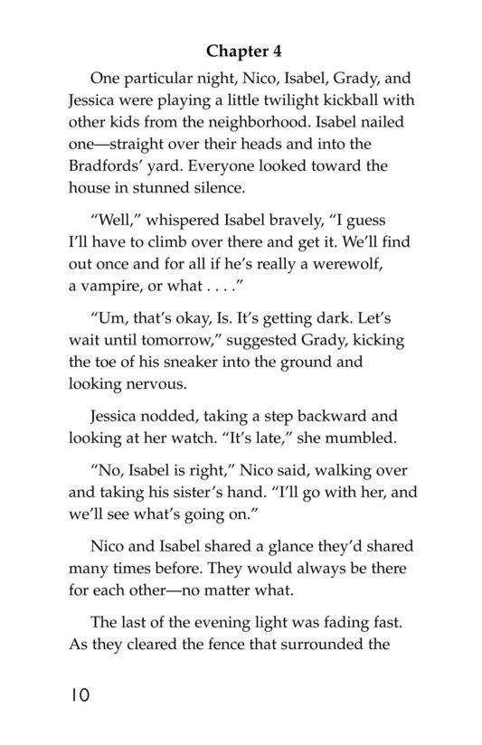 Book Preview For Mystery in the Moonlight Page 10