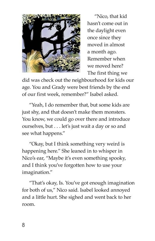Book Preview For Mystery in the Moonlight Page 8