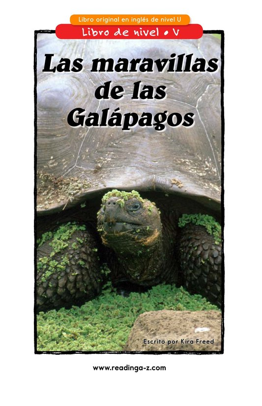 Book Preview For Galapagos Wonder Page 1