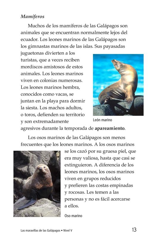Book Preview For Galapagos Wonder Page 13