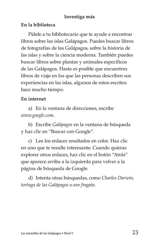 Book Preview For Galapagos Wonder Page 23