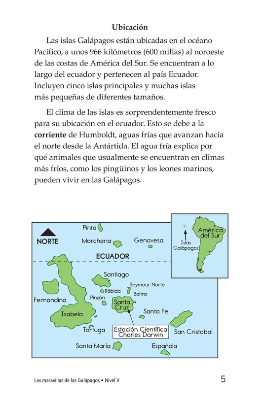 Book Preview For Galapagos Wonder Page 5