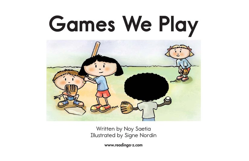 Book Preview For Games We Play Page 2