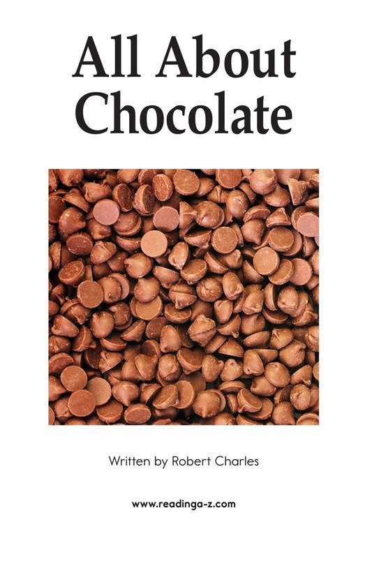 Book Preview For All About Chocolate Page 2