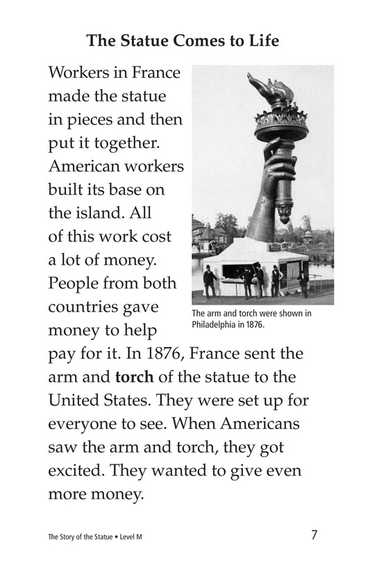 Book Preview For The Story of the Statue Page 7