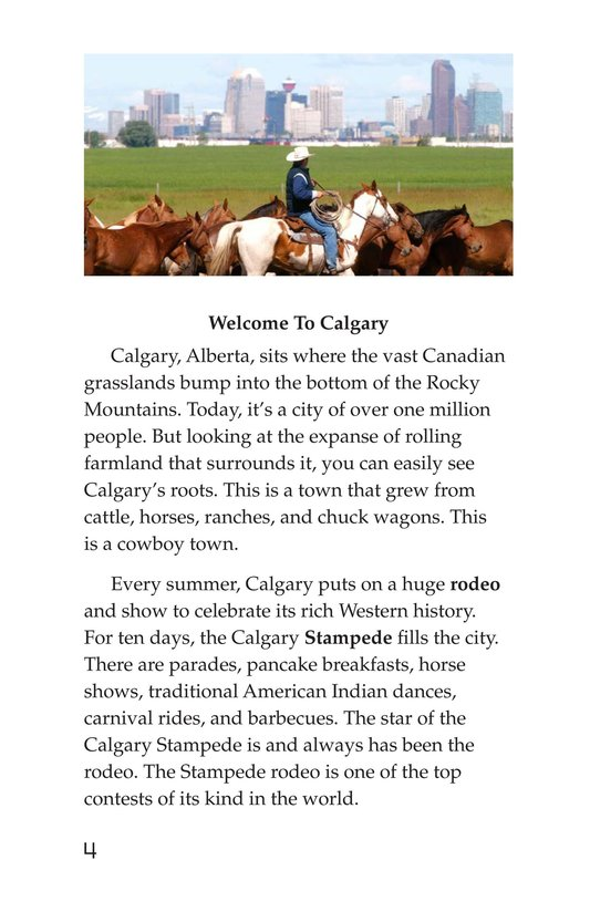 Book Preview For The Calgary Stampede Page 4