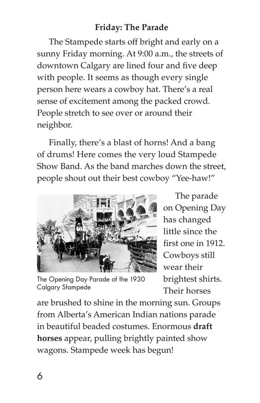 Book Preview For The Calgary Stampede Page 6