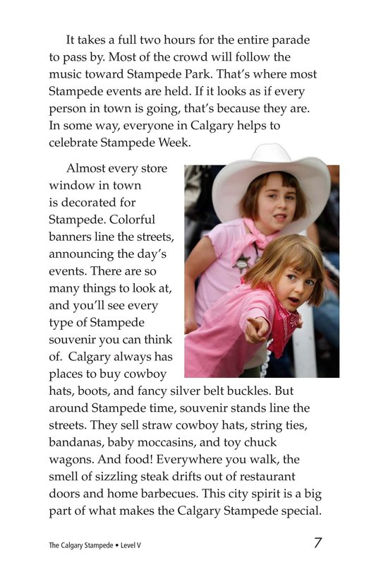 Book Preview For The Calgary Stampede Page 7