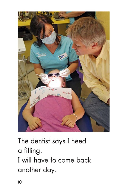 Book Preview For Going to the Dentist Page 10