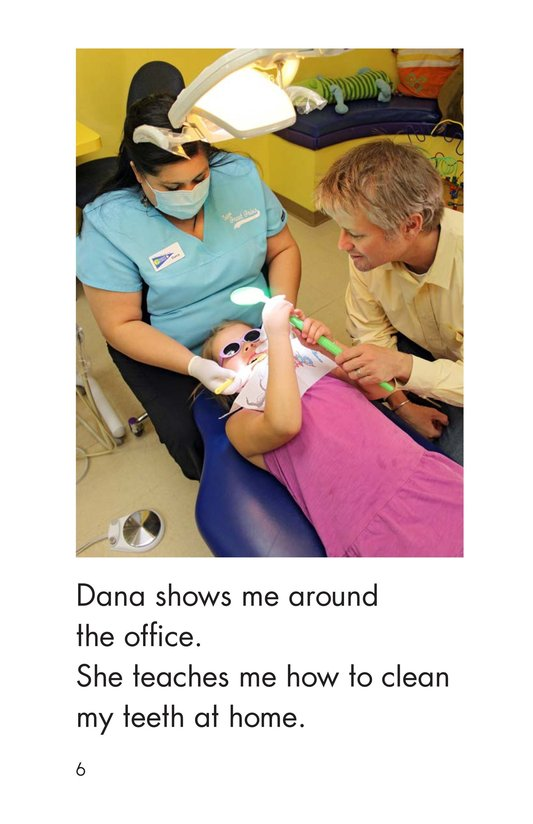 Book Preview For Going to the Dentist Page 6