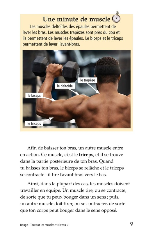 Book Preview For Get Moving! All About Muscles Page 9