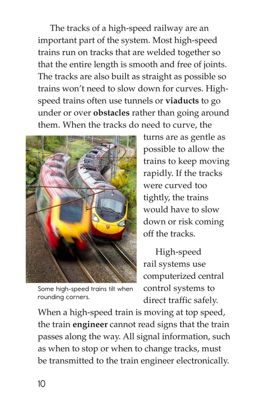 Book Preview For High-Speed Trains Page 10