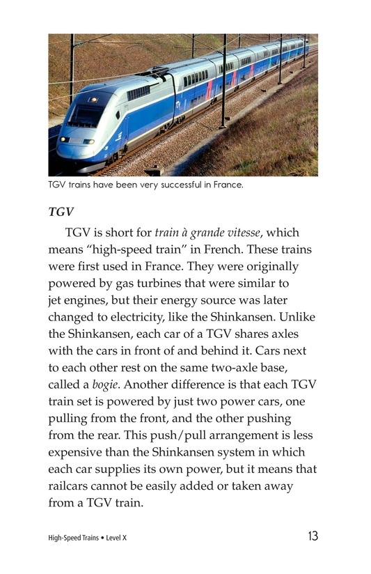 Book Preview For High-Speed Trains Page 13