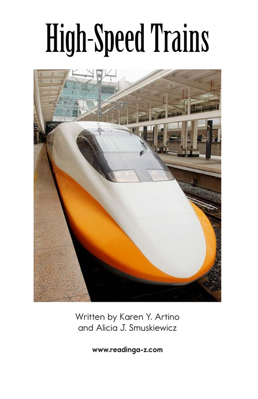 Book Preview For High-Speed Trains Page 2