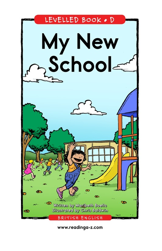 Book Preview For My New School Page 1