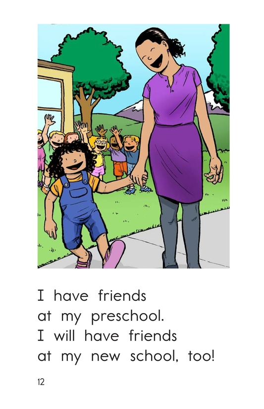 Book Preview For My New School Page 12
