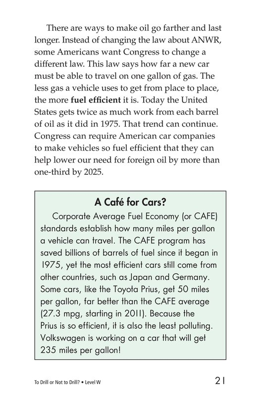 Book Preview For To Drill or Not to Drill? Page 21