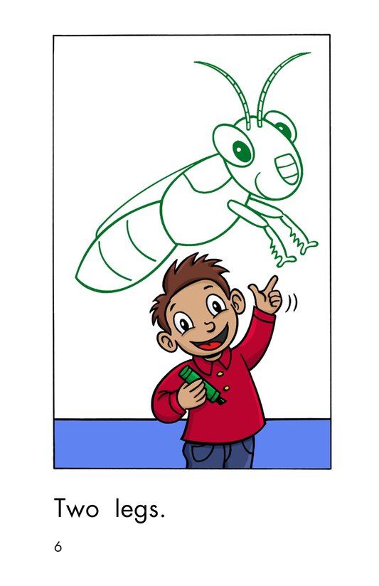 Book Preview For One Insect Page 6
