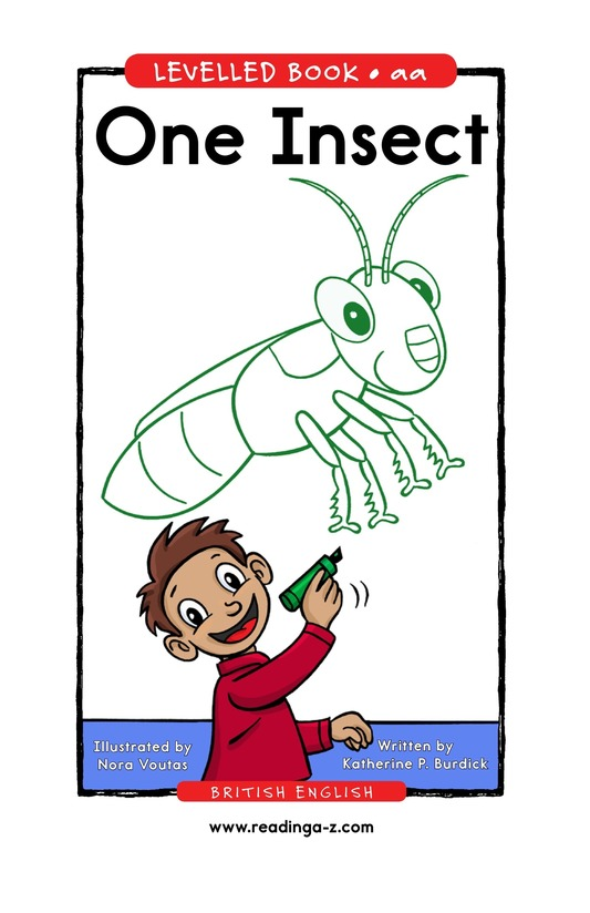 Book Preview For One Insect Page 1