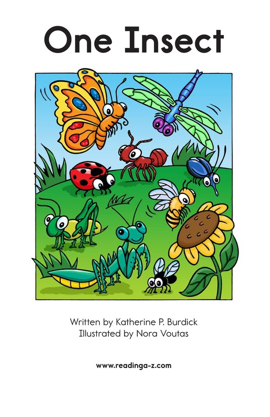 Book Preview For One Insect Page 2