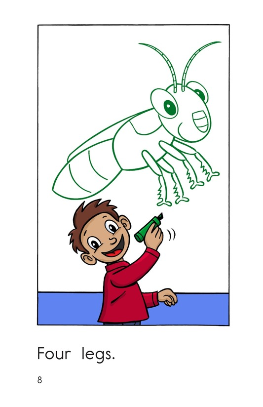 Book Preview For One Insect Page 8