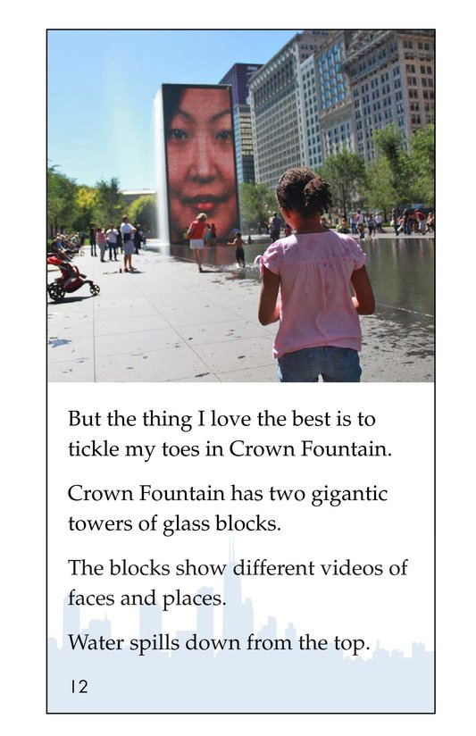 Book Preview For I Love City Parks Page 12