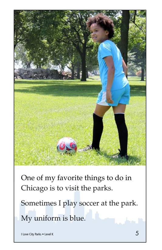 Book Preview For I Love City Parks Page 5