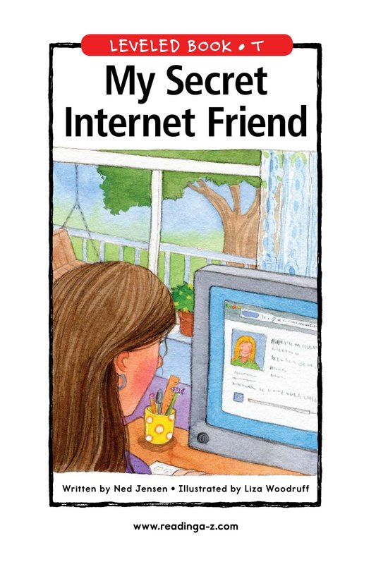 Book Preview For My Secret Internet Friend Page 1