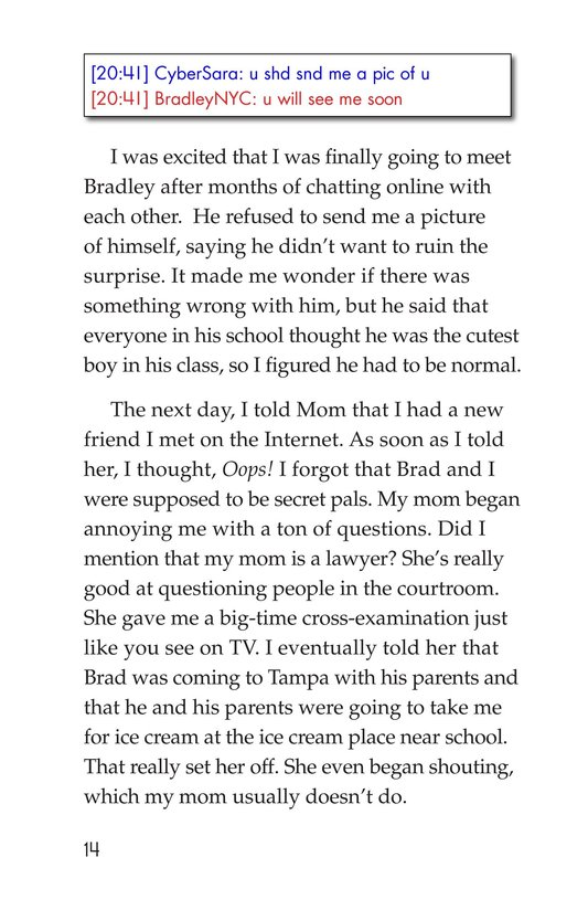 Book Preview For My Secret Internet Friend Page 14