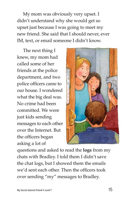Book Preview For My Secret Internet Friend Page 15