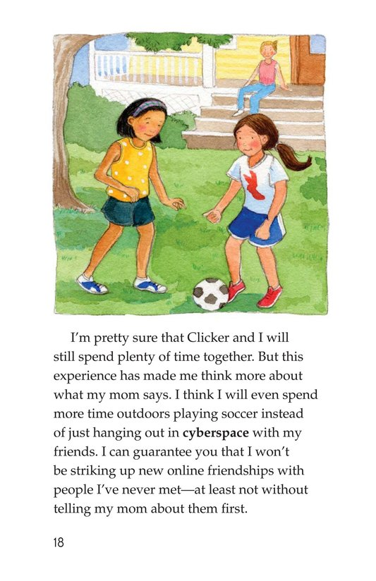 Book Preview For My Secret Internet Friend Page 18
