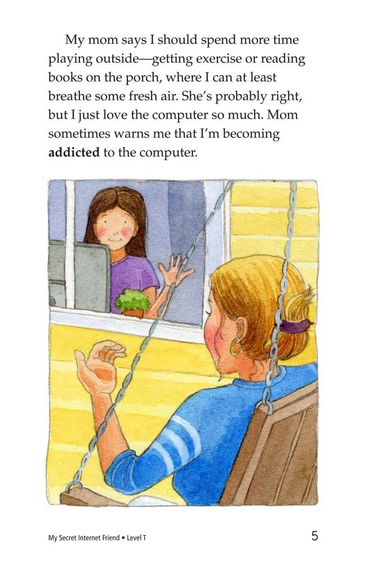 Book Preview For My Secret Internet Friend Page 5