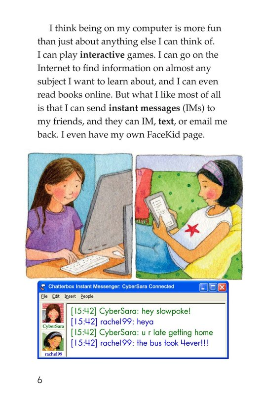 Book Preview For My Secret Internet Friend Page 6