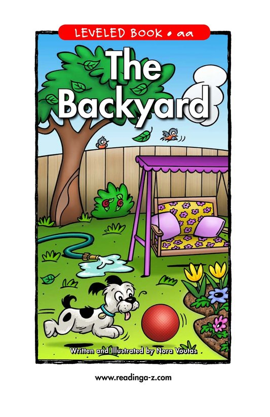 Book Preview For The Backyard Page 1