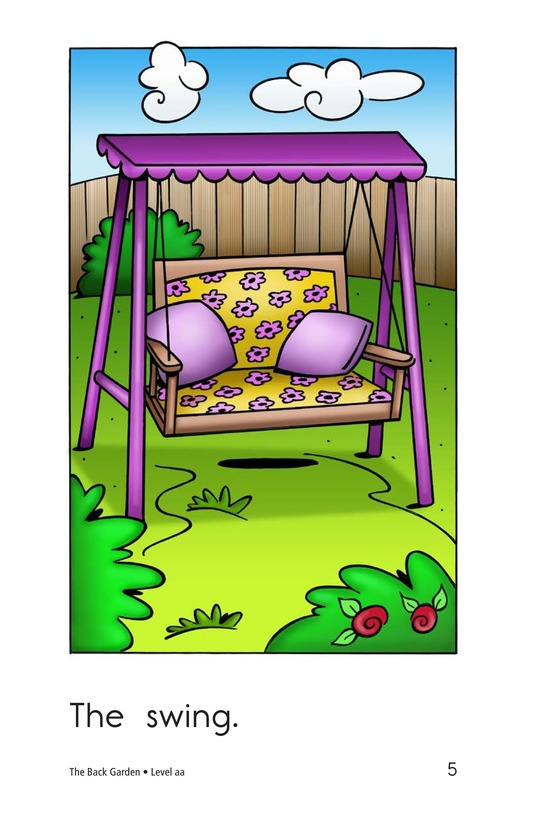 Book Preview For The Backyard Page 5