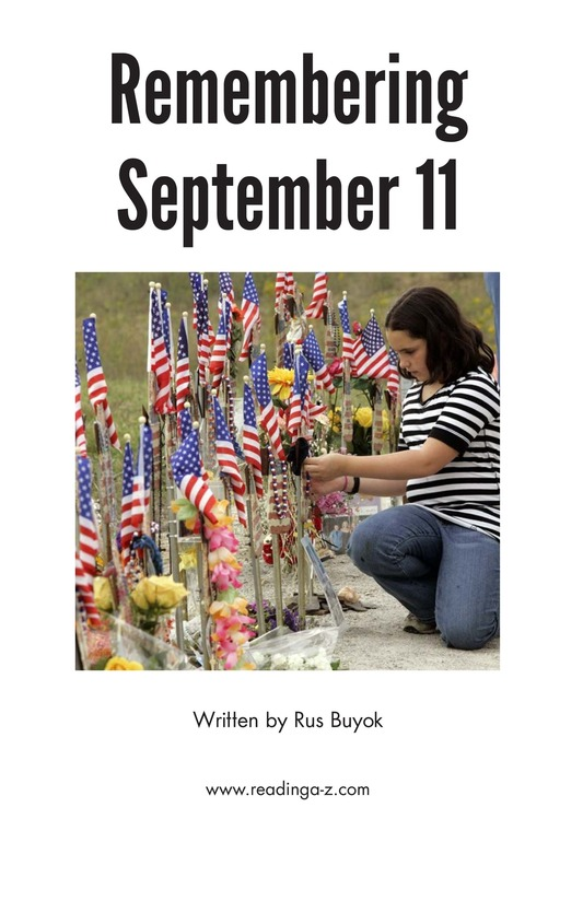 Book Preview For September 11: Always Remember Page 2