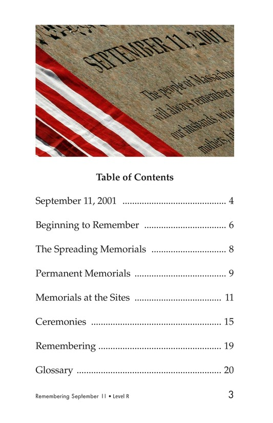 Book Preview For September 11: Always Remember Page 3
