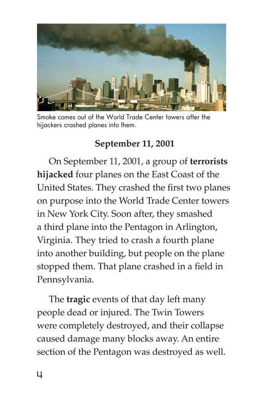 Book Preview For September 11: Always Remember Page 4