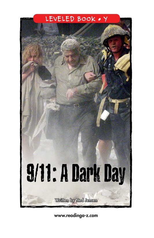 Book Preview For 9/11: A Dark Day Page 1