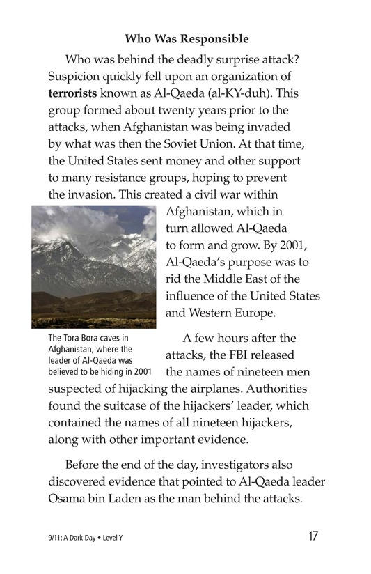 Book Preview For 9/11: A Dark Day Page 17